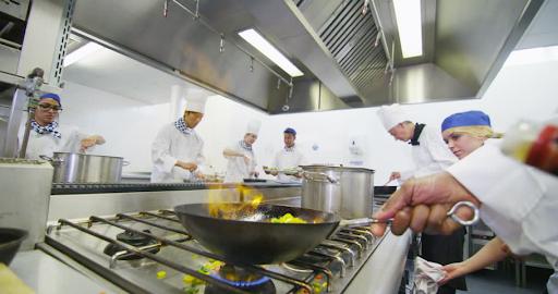 Bếp nấu chế biến thực phẩm